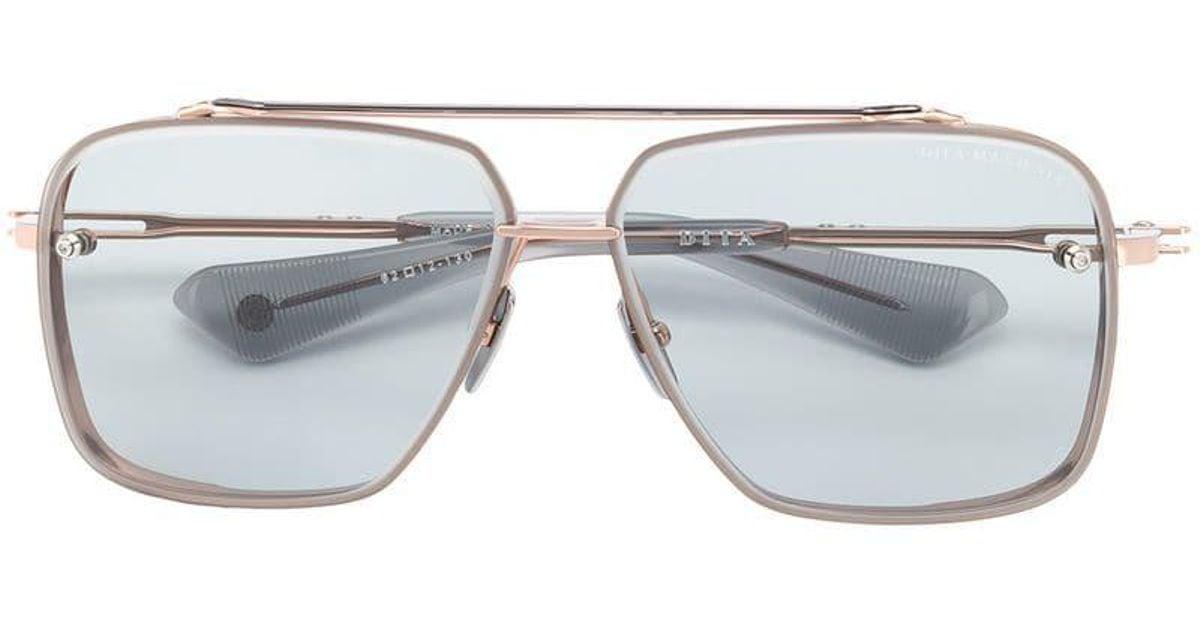 00c76ec367a4 Lyst - Dita Eyewear Mach Six Sunglasses in Metallic