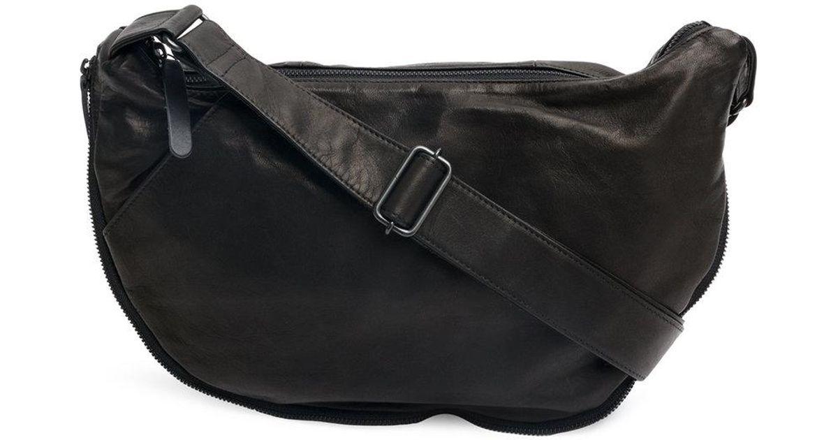 87a8dedc0b94 Lyst - Yohji Yamamoto Zipped Shoulder Bag in Black for Men