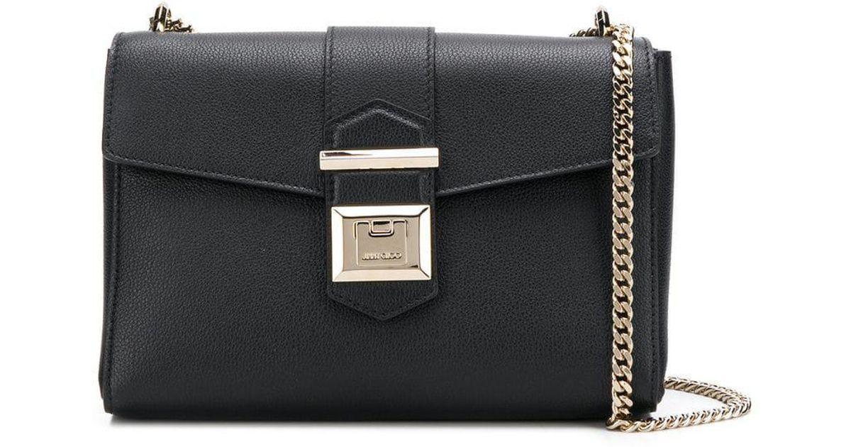 9c1acfcf40 Jimmy Choo Marianne Shoulder Bag S in Black - Lyst