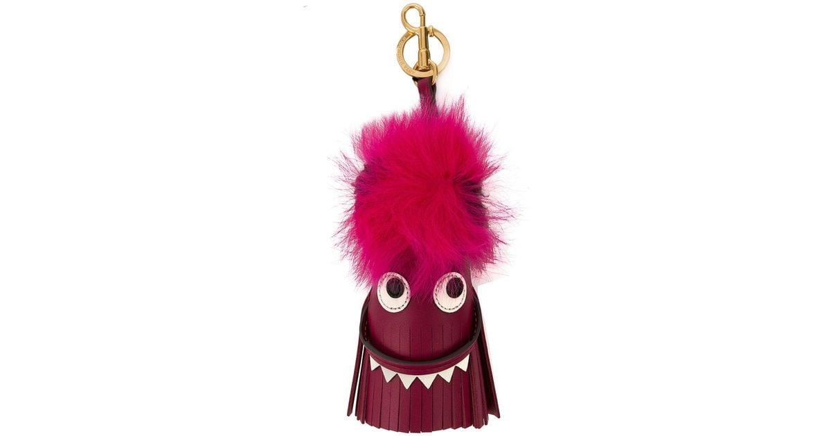 Creature charm - Pink & Purple Anya Hindmarch ZUVvPFn