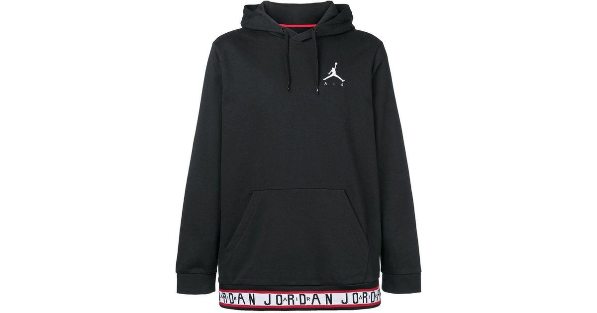 369ab3dd94c Nike Jordan Jumpman Air Hoodie in Black for Men - Lyst