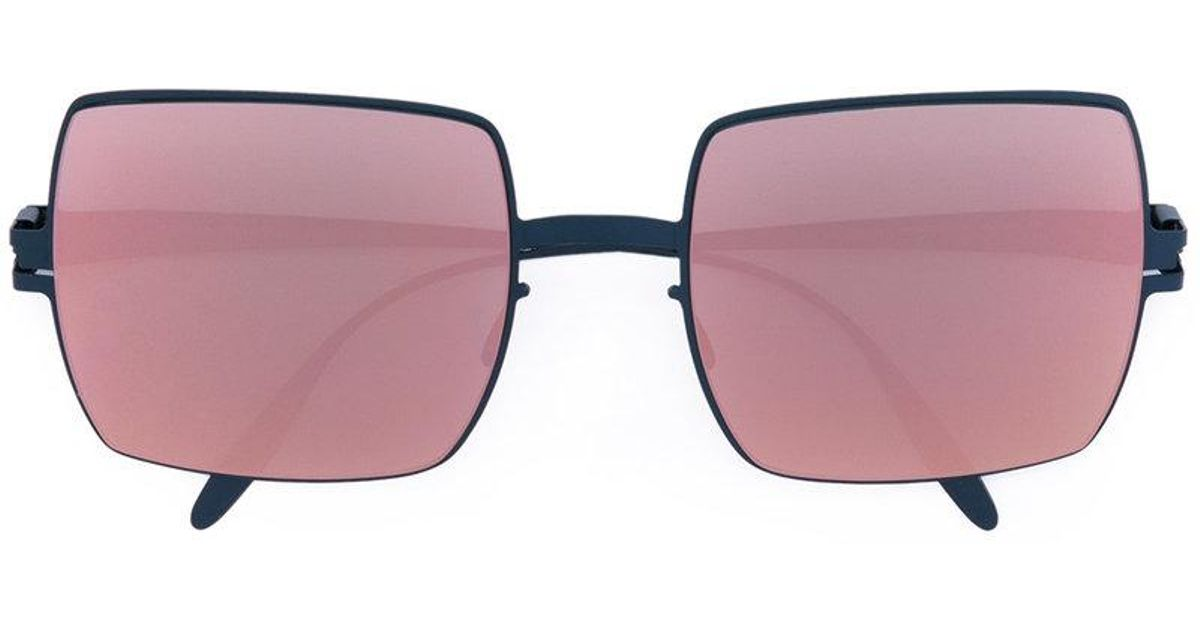 5cbd4d5c8a Lyst - Mykita Dusty Sunglasses in Blue