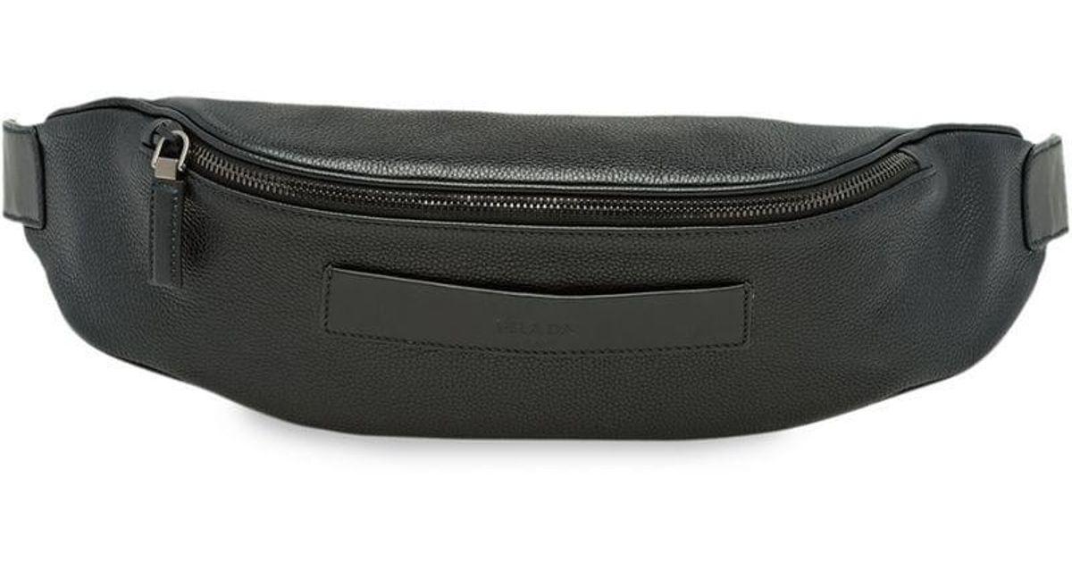 3cd1e1514951 Lyst - Prada Classic Belt Bag in Black for Men