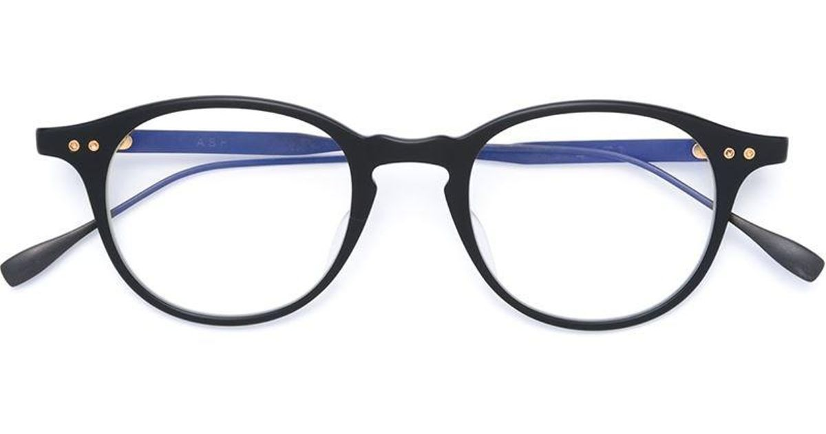 Cheap Sale Outlet Dita Eyewear round frame glasses Outlet Fake Buy ...