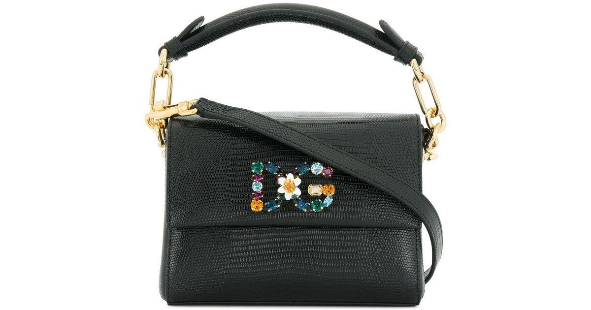 Lyst - Dolce   Gabbana Dg Millennials Mini Tote Bag in Black 87b8519783540