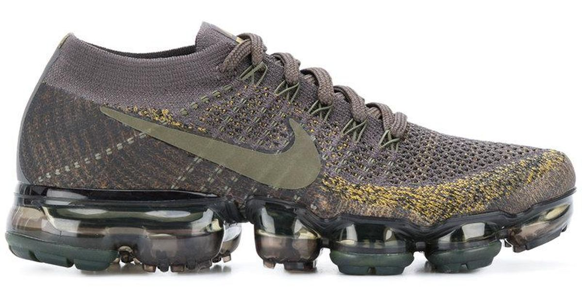 0e900e929976 Nike Air Vapourmax Flyknit Sneakers in Green for Men - Lyst