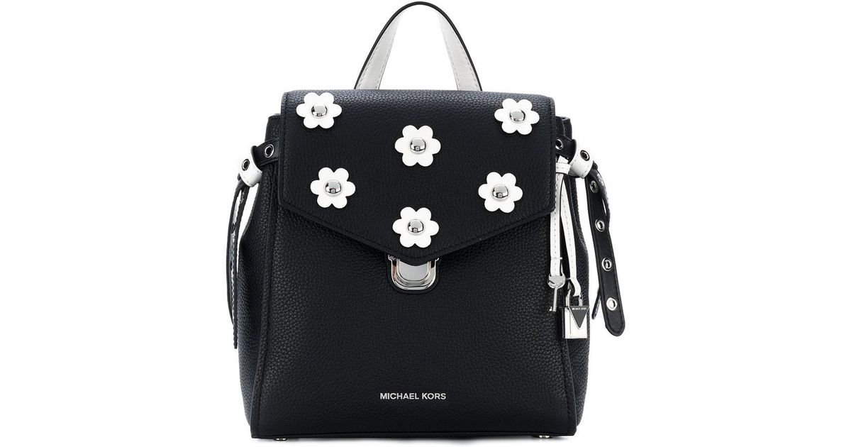 Lyst michael michael kors bristol floral appliqué small backpack