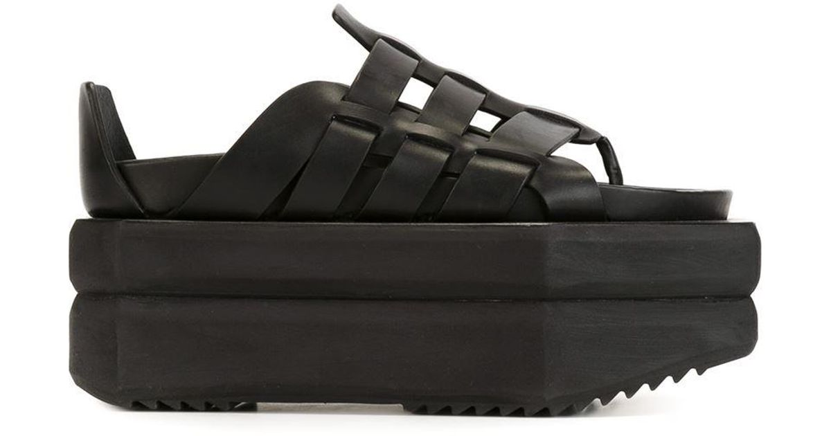 Rick Owens Platform gladiator sandals Ij8lGAL