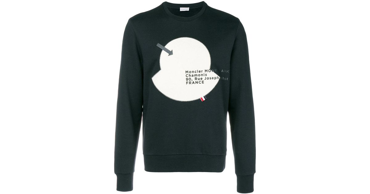 Looking For Cheap Online mascot embellished sweatshirt - Blue Moncler Outlet Latest Collections Shopping Online Outlet Sale Get To Buy Online 5pYTRTZhyz