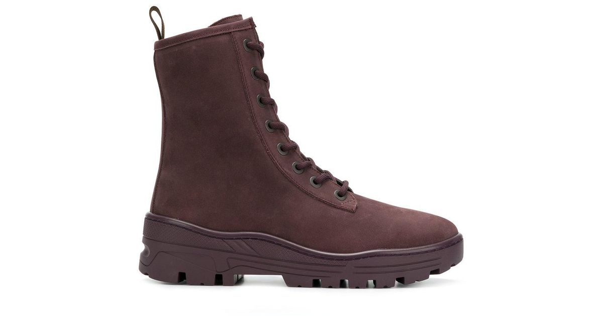 ec41a0a17b79 Yeezy Season 6 Combat Boots in Brown for Men - Lyst