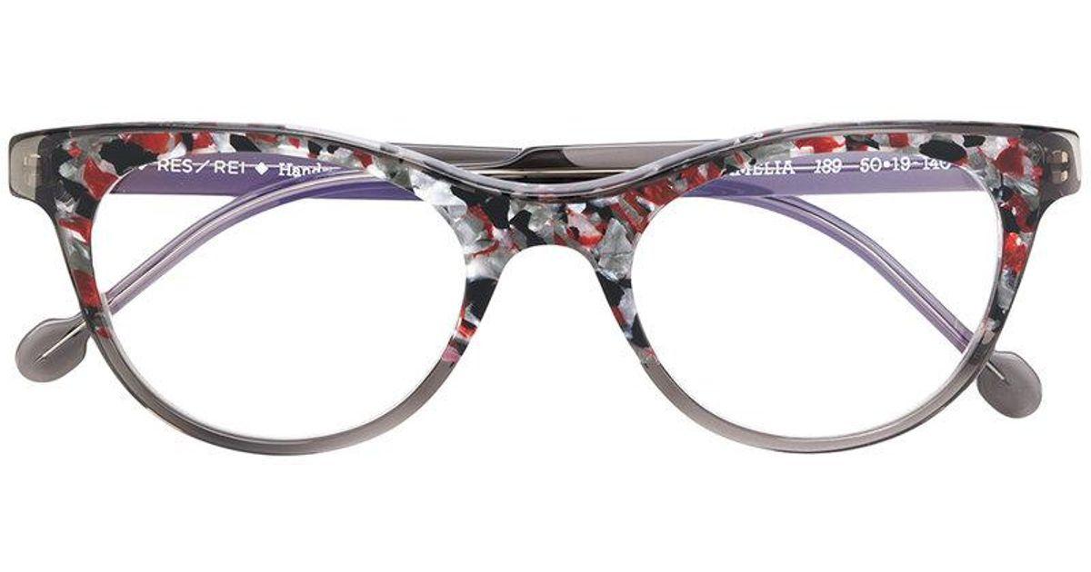 design di qualità 3f53b f8024 RES/REI Occhiali in Gray - Lyst