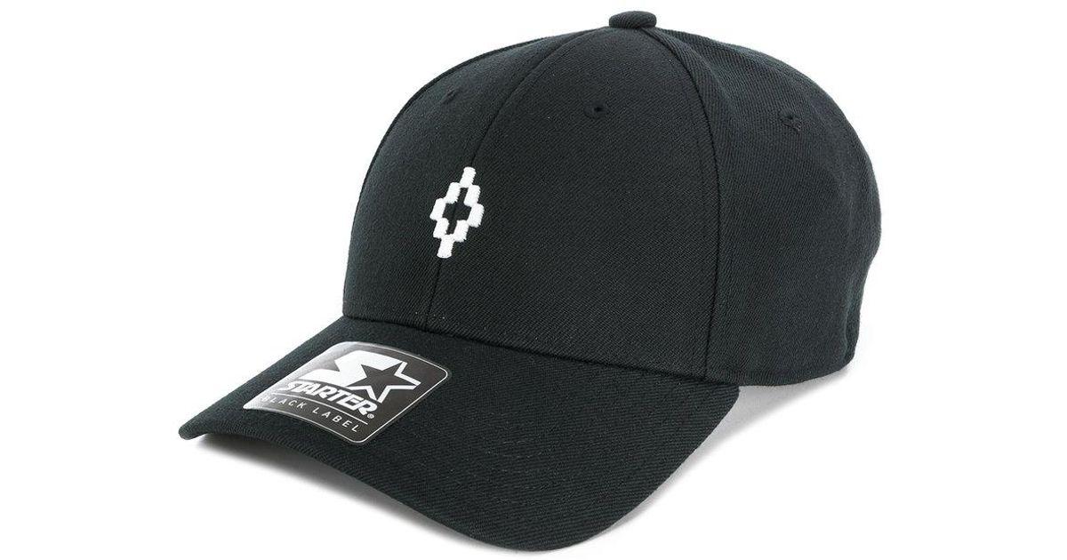 Lyst - Marcelo Burlon Cross Cap in Black for Men 3e94a2b720df