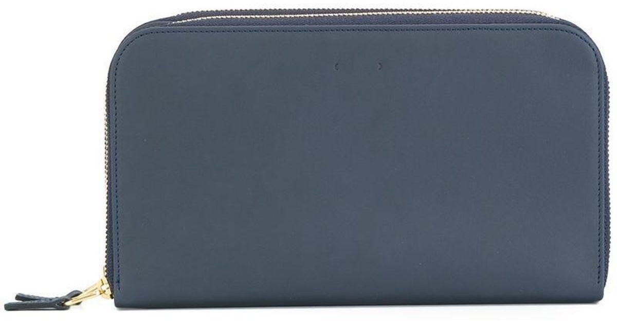 zip around wallet - Blue Pb 0110 VZtGHK