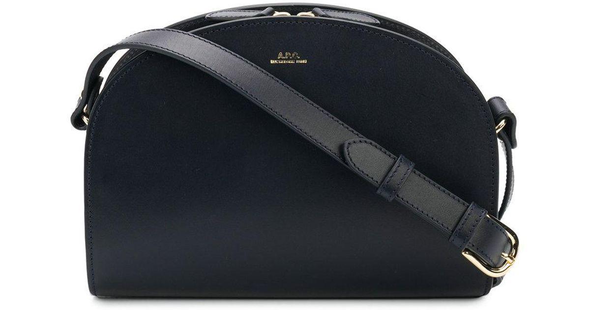 Footlocker Finishline front logo crossbody bag - Blue A.P.C. Cheap Very Cheap Supply Online KirBtIrnJ