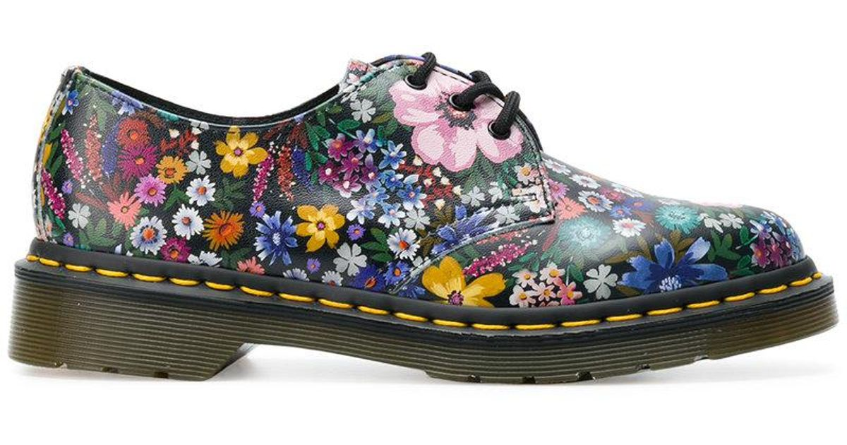 Wanderlust floral shoes - Multicolour Dr. Martens vhg7sgCbg