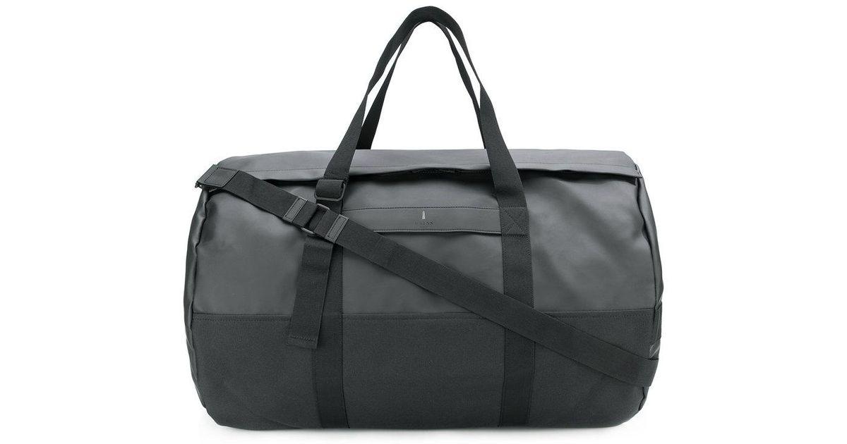 69822a0d7fc Rains Travel Duffel Bag in Black for Men - Lyst