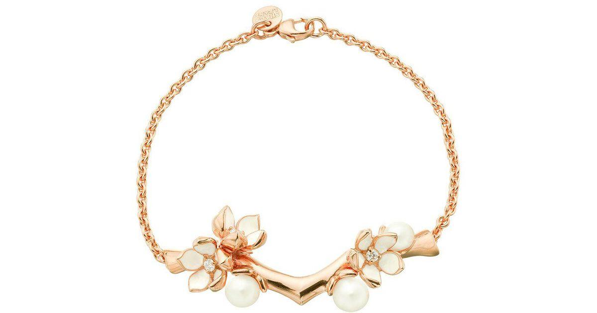 Shaun Leane Cherry Branch diamond bracelet - Metallic RTeV0
