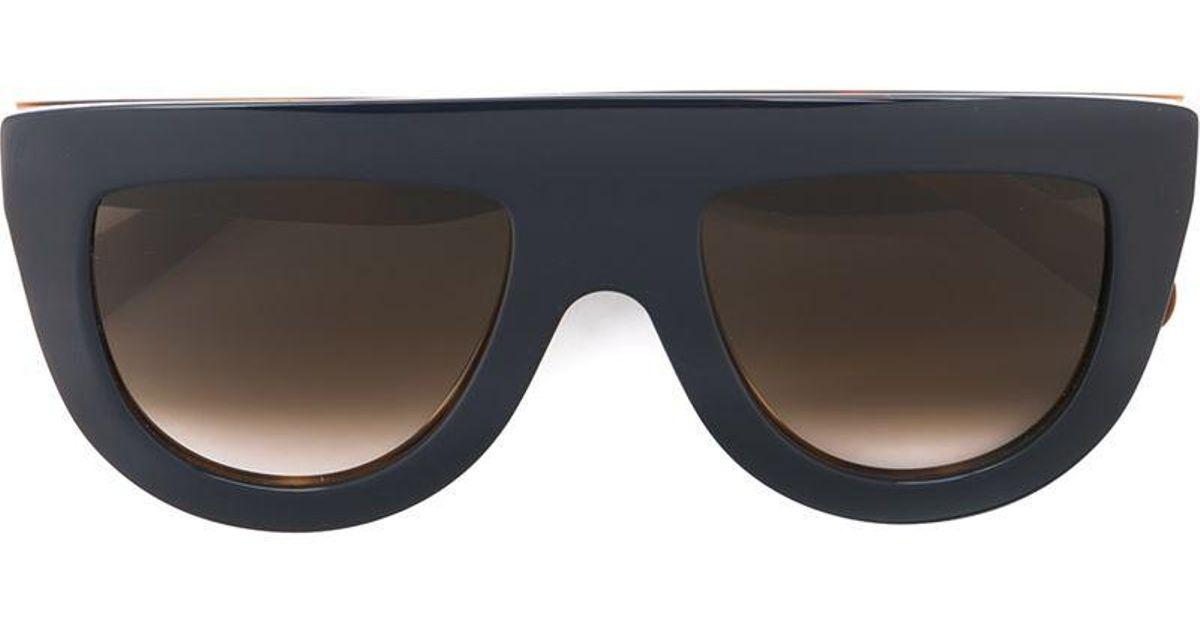 visor frame sunglasses - Blue Celine 9OsvaB