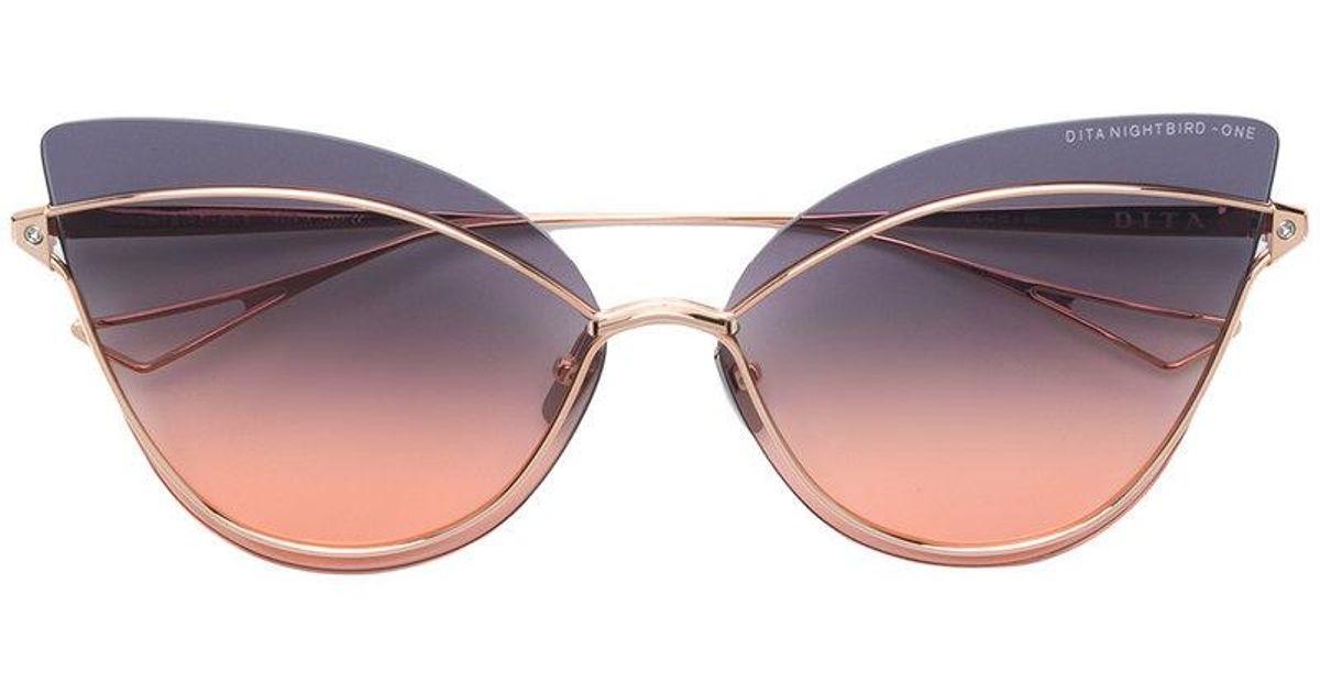 bce6061a20d7 Dita Eyewear Nightbird-one Sunglasses in Brown - Lyst