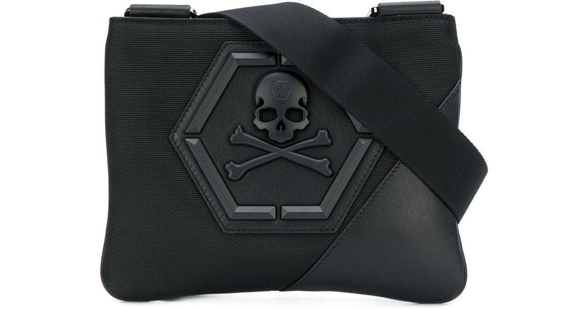 a117e4dd41 Philipp Plein Allyn Shoulder Bag in Black for Men - Lyst
