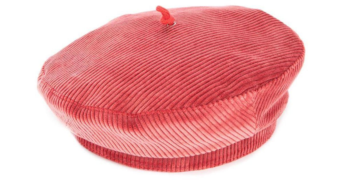c3ea17b373b05 Beton Cire Beret Hat in Pink - Lyst