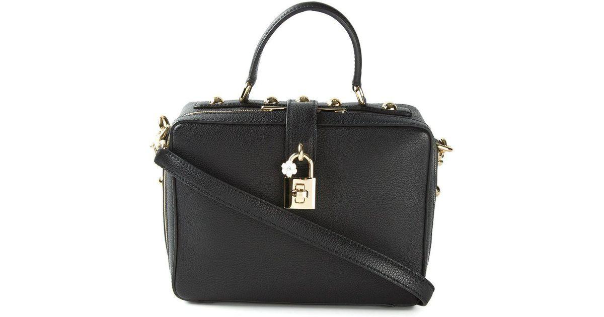 186f62570b Lyst - Sac à main Dolce Soft Dolce & Gabbana en coloris Noir