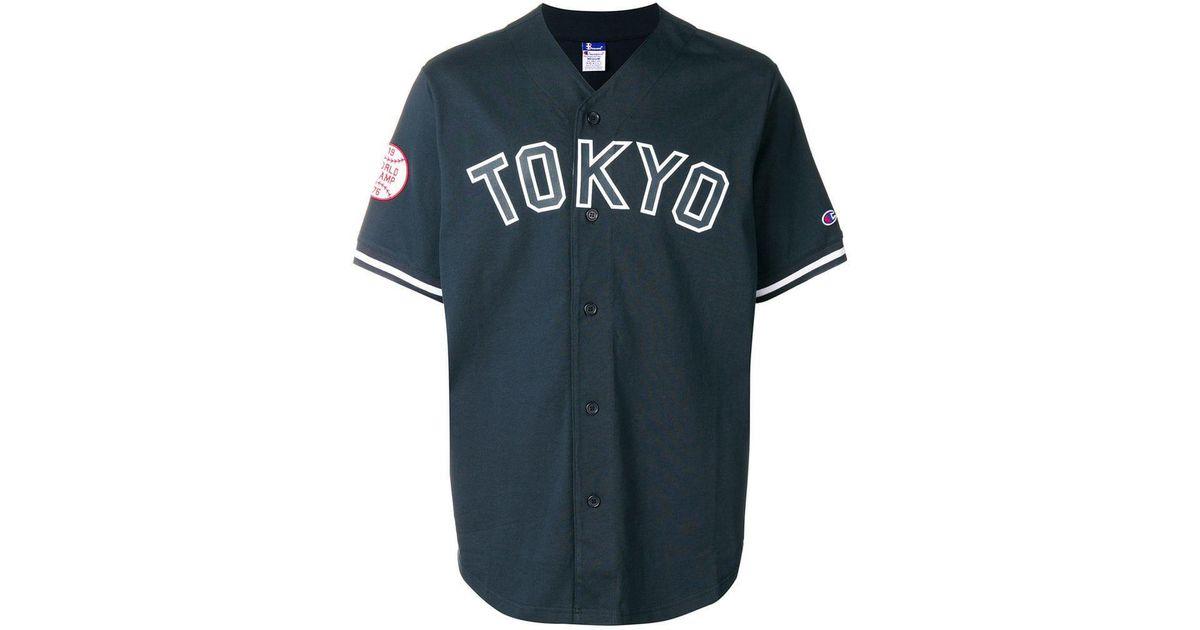 92594df9f Champion X Beams Baseball T-shirt in Blue for Men - Lyst