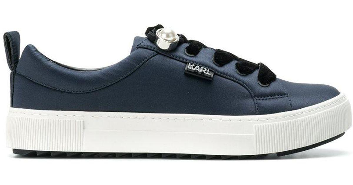 pearl detail sneakers - Blue Karl Lagerfeld vJ1v5y