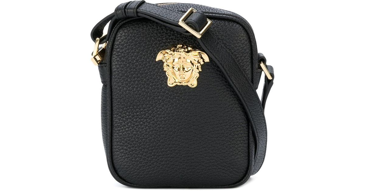 5673ba02e6 Lyst - Versace Medusa Camera Bag in Black