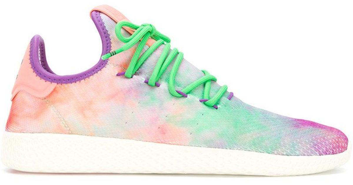 3fd2153cb Lyst - adidas Originals Pharrell Williams Hu Holi Tennis Hu Mc Sneakers for  Men