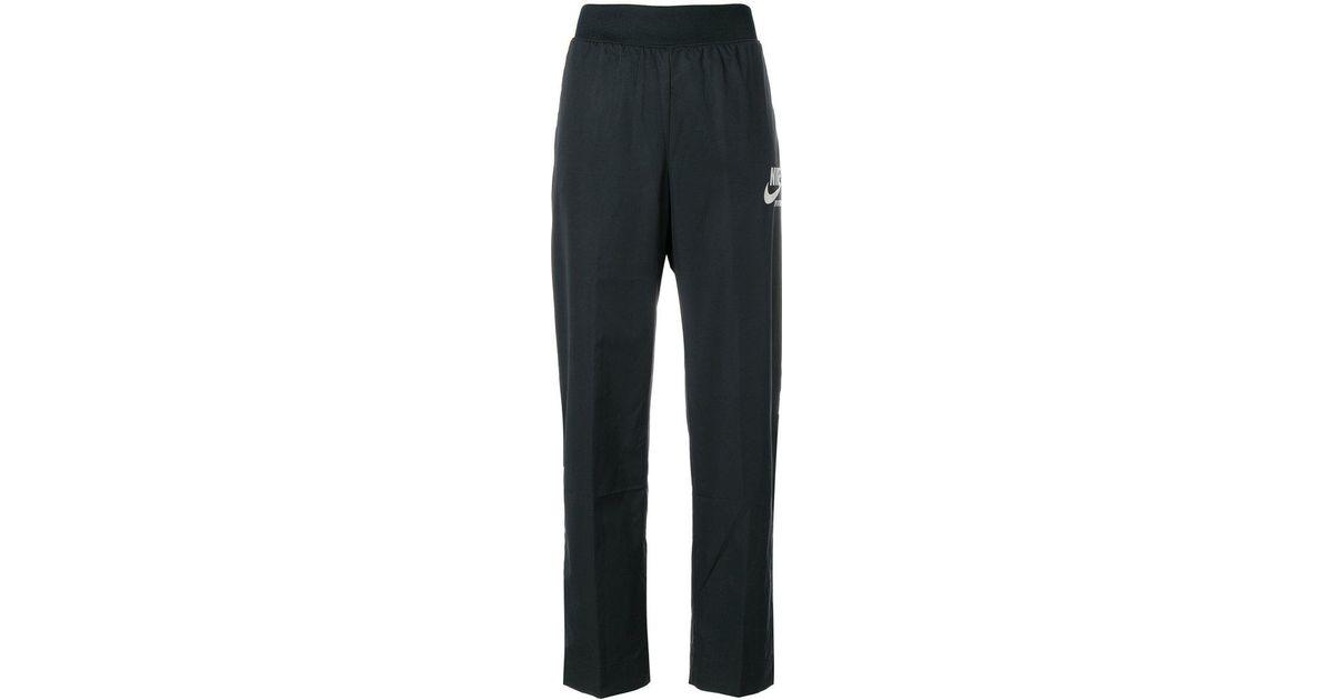 2f44f7fb1c8c Nike Sportswear Archive Track Pants in Black - Lyst