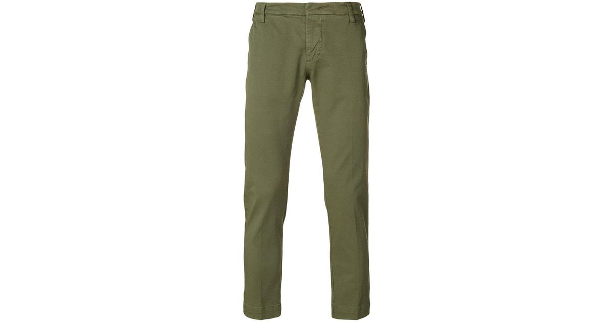 straight trousers - Green Entre Amis jFUsXe