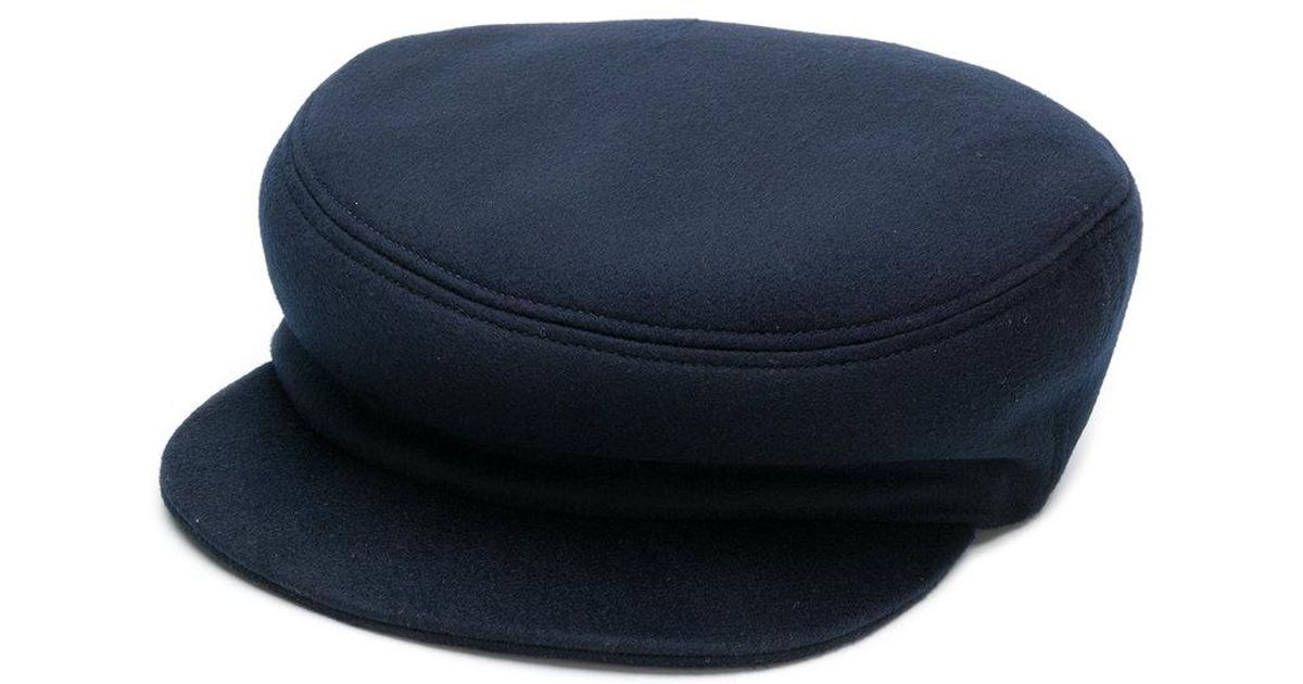 Isabel Marant Conductor-style Hat in Blue - Lyst f1170c86385