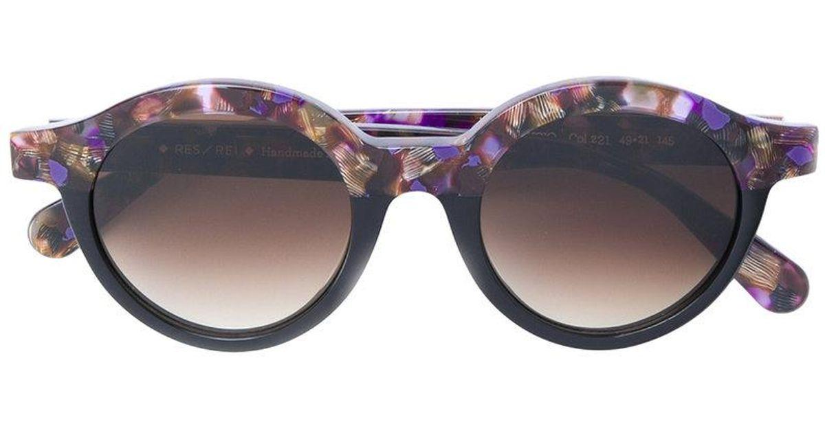 da01962aed Res Rei Lucio Sunglasses in Black - Lyst