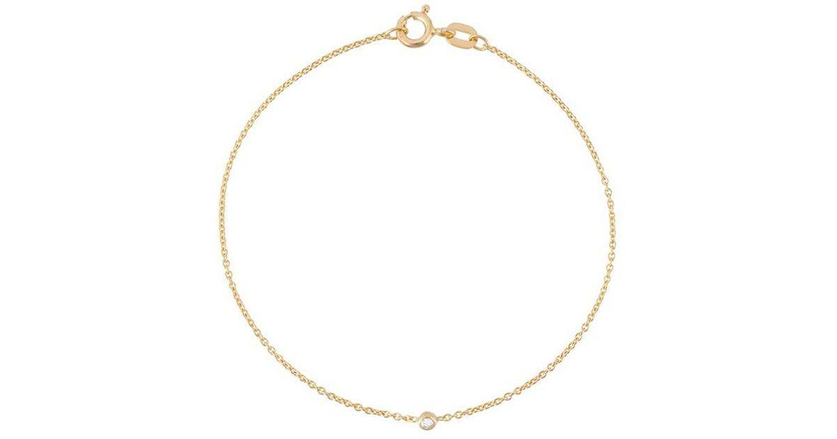 Wouters & Hendrix Baguette diamond bracelet - Metallic imBgKsIr
