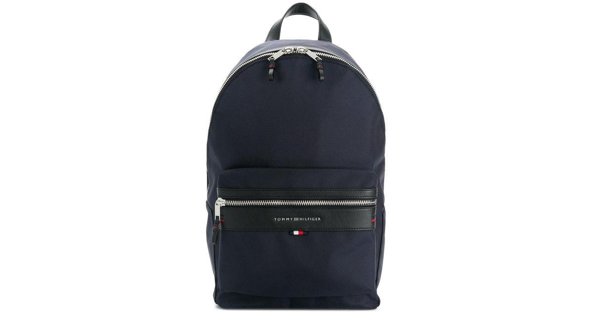 Lyst - Tommy Hilfiger Lightweight Laptop Backpack in Blue for Men 7e2523fe2