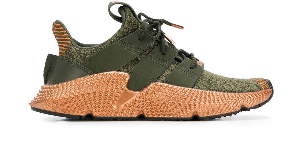 reputable site 37fa4 b4bb2 Lyst - adidas Lace-up Sock Sneakers in Green for Men