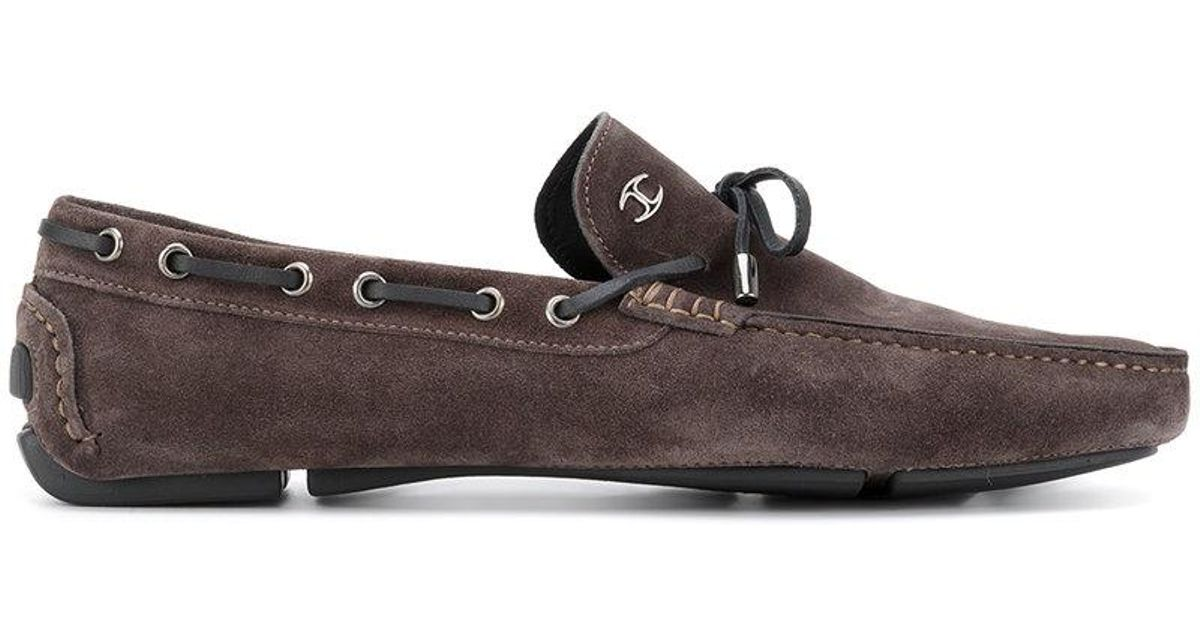 03bb5d4a403 Lyst - Just Cavalli Classic Driving Shoes in Brown for Men
