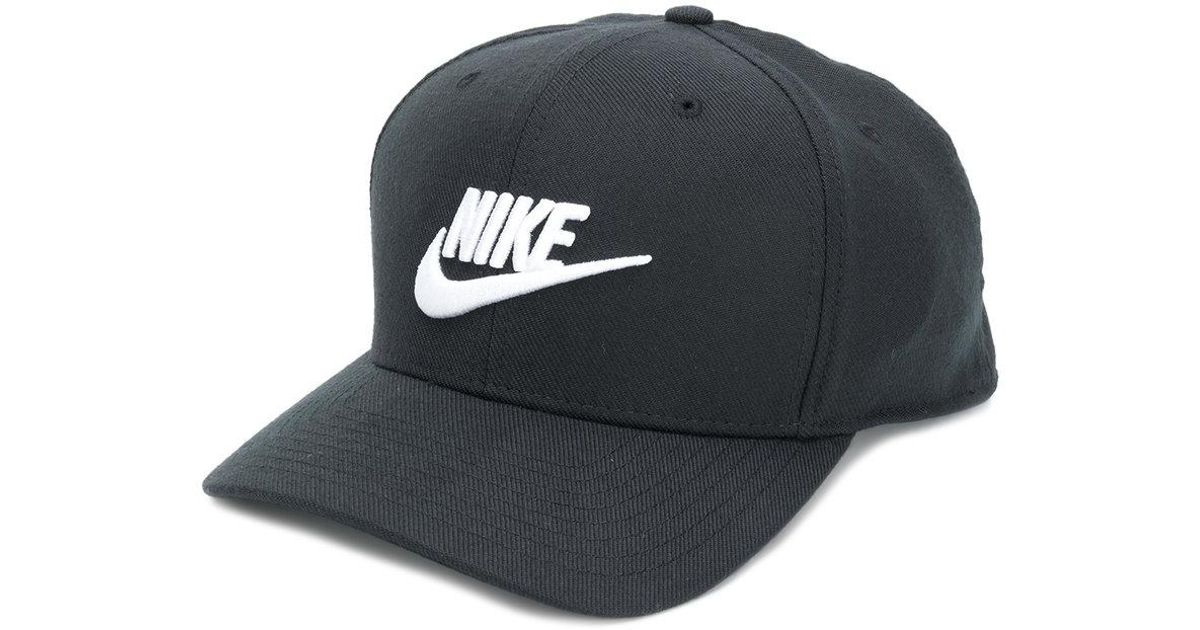 ... sweden nike embroidered logo cap in black for men lyst 04ad3 49dd7 fba79a927970