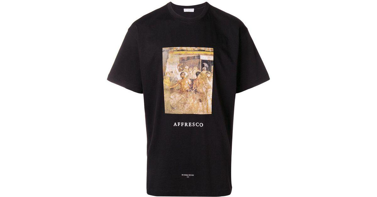 Ih Nom Uh Nit Black Alfresco T shirt for Men Lyst