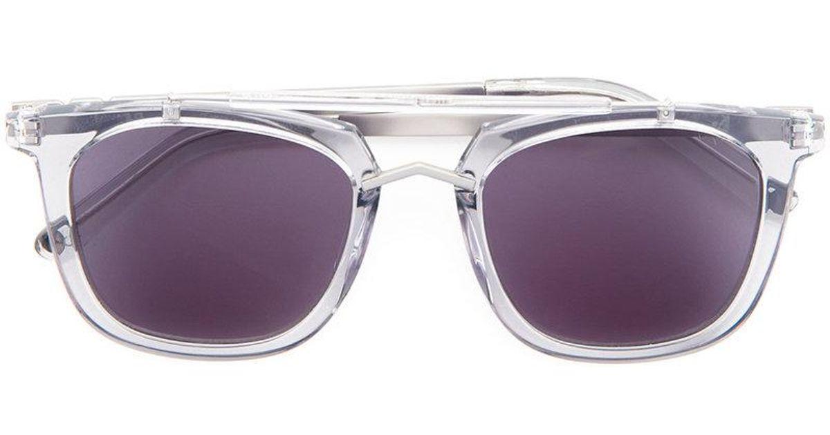 6f52dedc859edf Lyst - Lunettes de soleil Camels   Caravans Pared Eyewear en coloris Gris