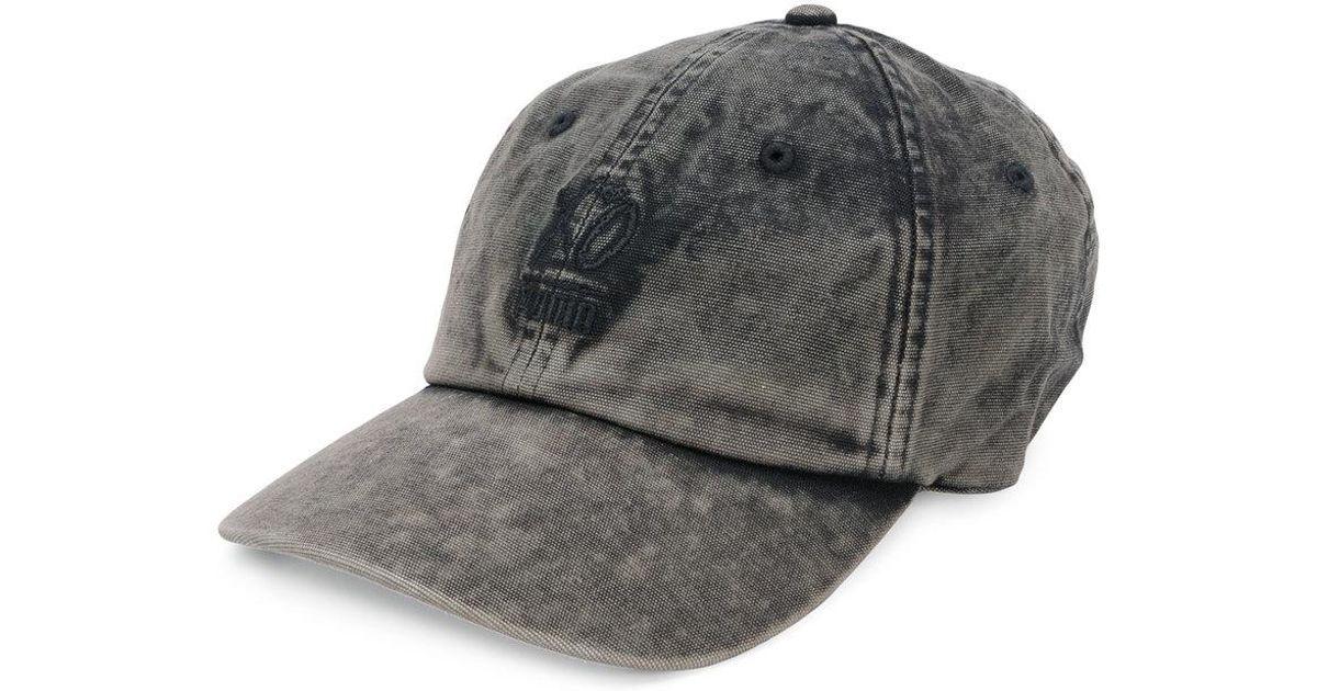 3e64cee5555 Lyst - PUMA Acid Washed Baseball Cap in Black for Men