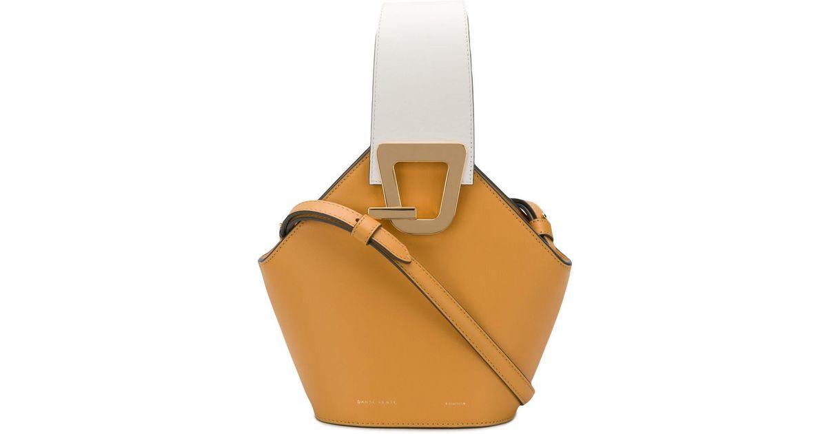 4aca8cb681ac Danse Lente Mini Johnny Bucket Bag in Yellow - Lyst