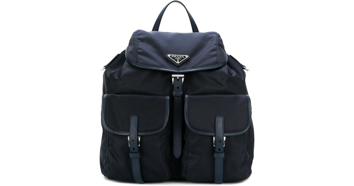 Prada one shoulder padded backpack Sexy Sport Cheap Sale With Mastercard Sale Visit New Clearance Outlet Store 7GgVJoaf