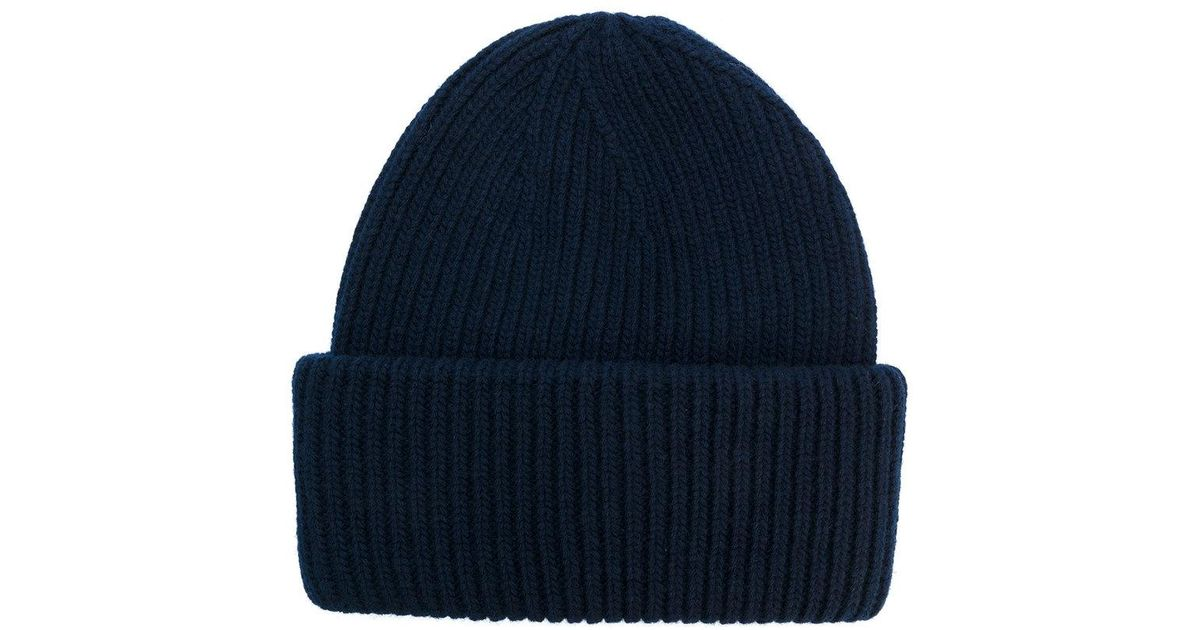 Lyst - Golden Goose Deluxe Brand Classic Beanie Hat in Blue for Men 199e98ac5f2c