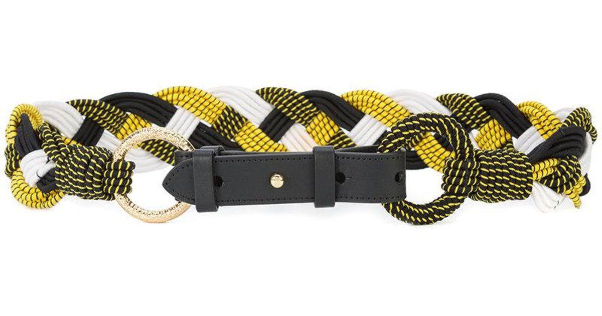 braided belt - White Diane Von F wsP41oCJ