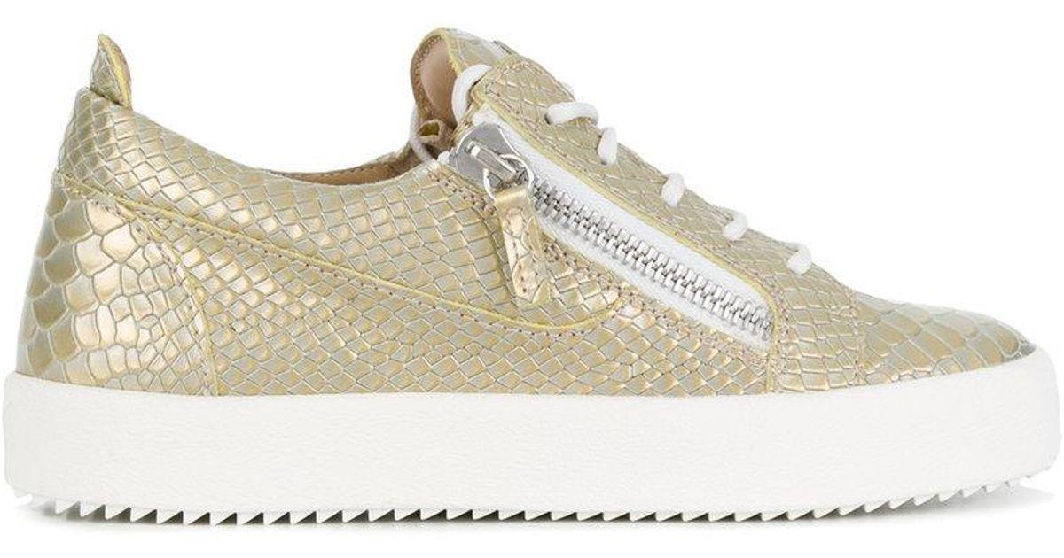 Giuseppe Zanotti Nicki python sneakers ApMUA