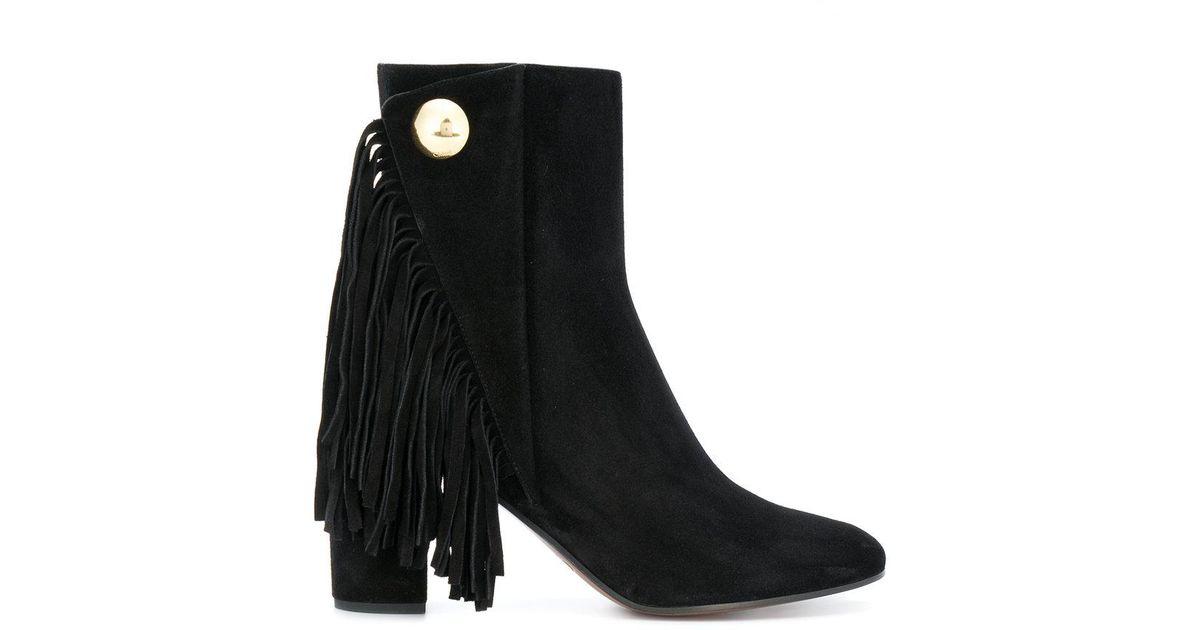 Quaisha boots - Black Chlo U10b46
