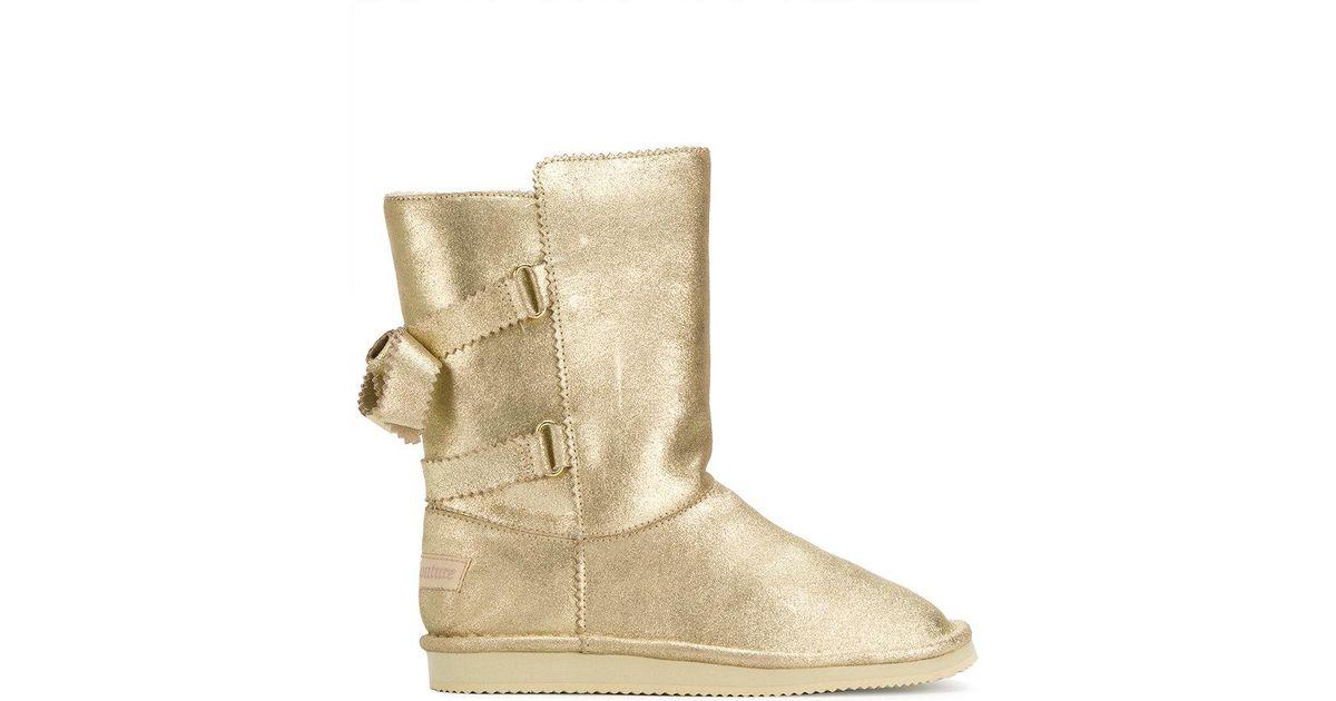 IZpvrEQGoQ Couture Double strap boots QvOUqs676Z