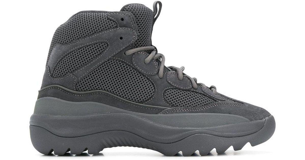 21efc0605e976 Lyst - Yeezy Season 6 Desert Rat Boots in Gray for Men